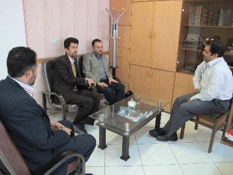 دیدار با معاون پشتیبانی بهزیستی آذربایجان شرقی