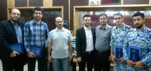 استودیوی شماره یک رادیو ایران - ضبط مسابقه فرمانده
